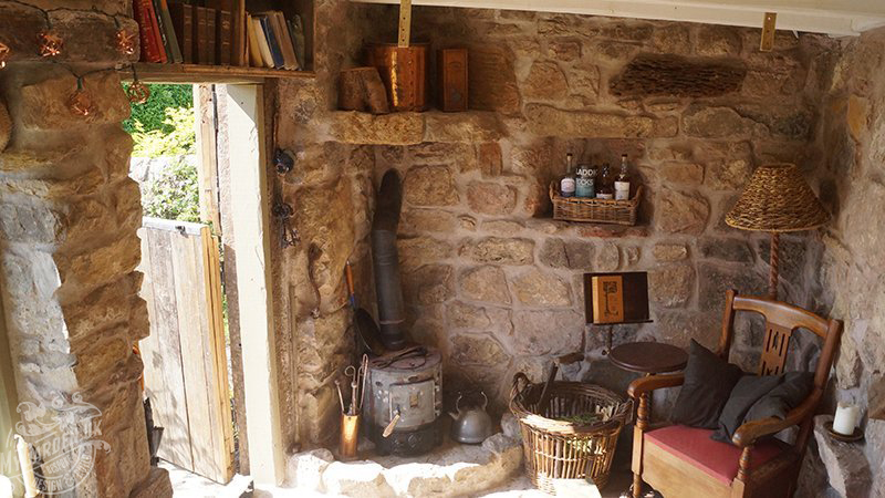 wood wall stove